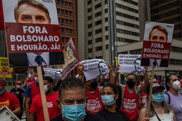 """300.000 de morți de COVID / Președintele Braziliei, Jair Bolsonaro, va fi acuzat de """"crime împotriva umanității"""""""